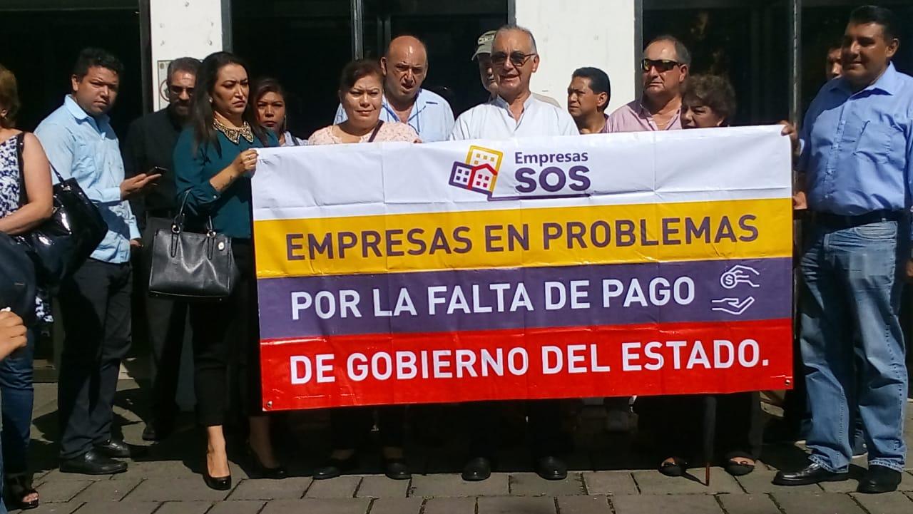 Se atoran pagos de deuda con empresarios que generó Duarte