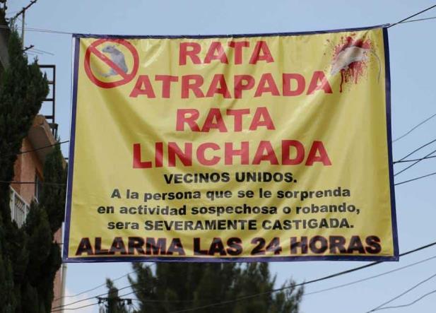 Estos son los Estados con más linchamientos en México