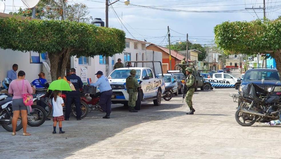 SSP asume seguridad en Tlalixcoyan tras muerte de policía