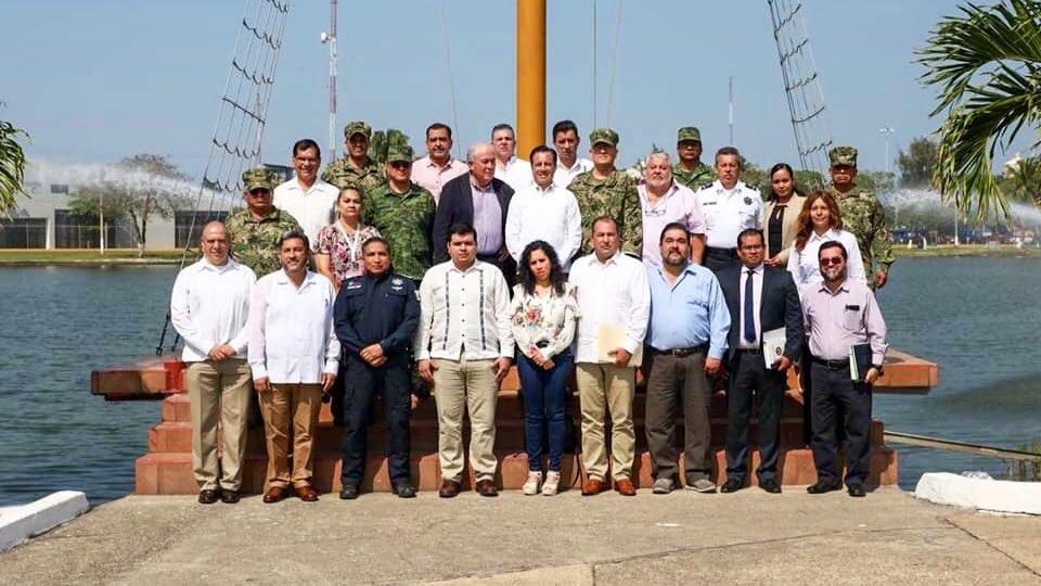 Asegura Cuitláhuac que Fiscal no estaba convocado a reunión en Coatzacoalcos