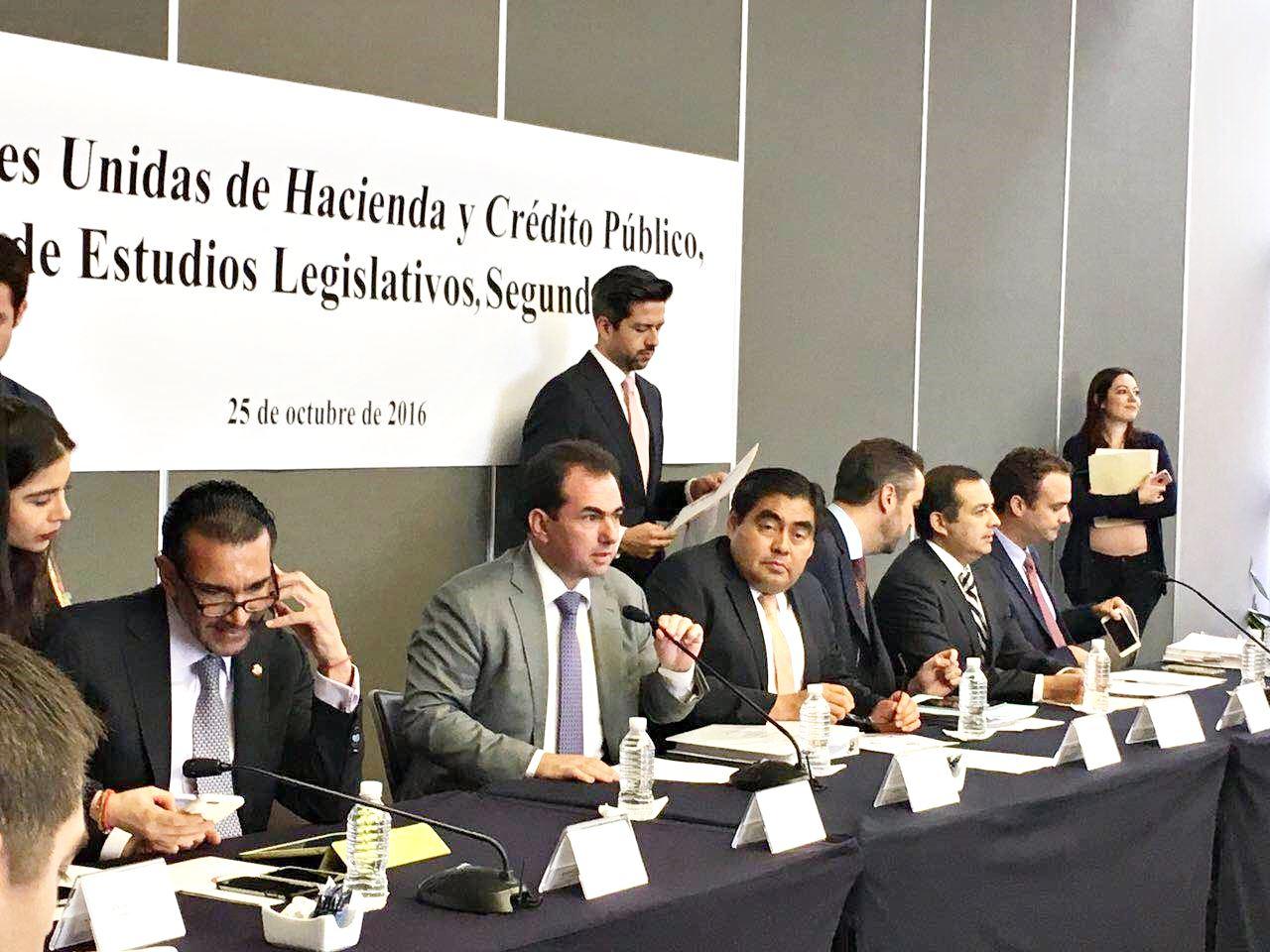 Aprobación en Comisiones de la ley de ingresos, símbolo de la responsabilidad: Pepe Yunes
