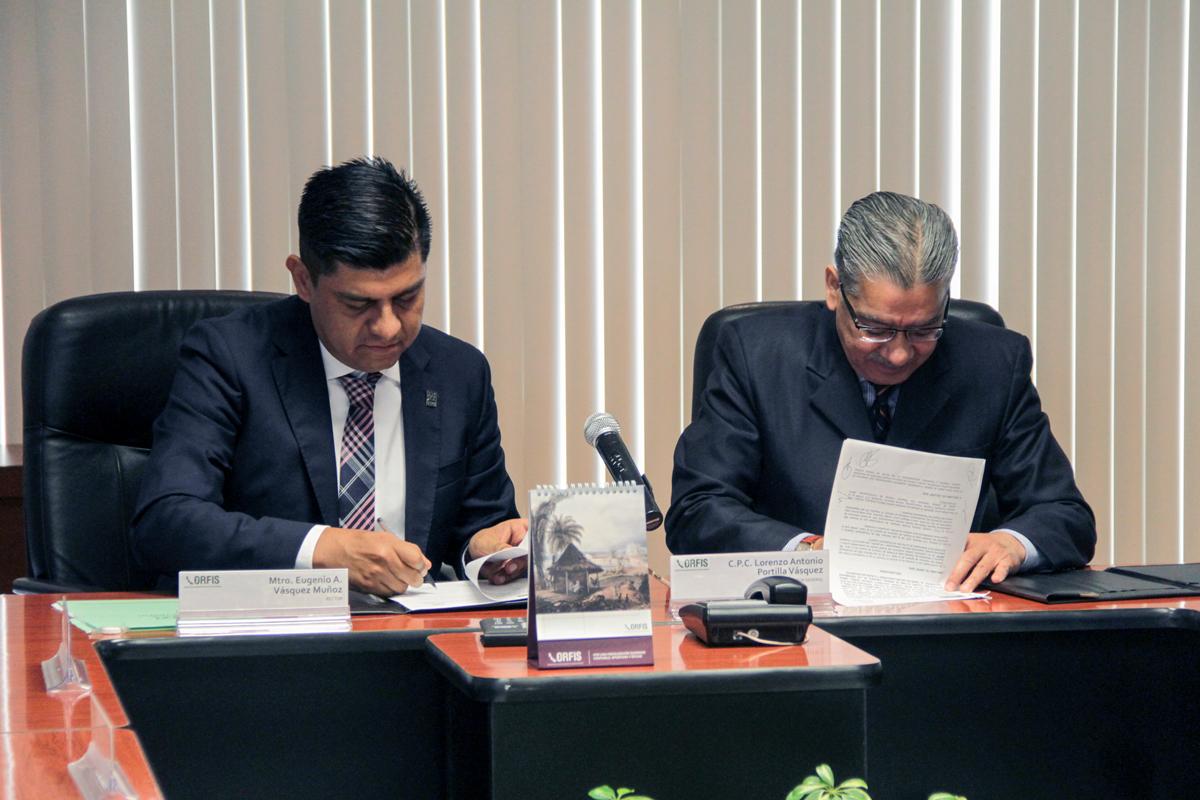 El Orfis y el Colver ratifican convenio de coordinación y colaboración