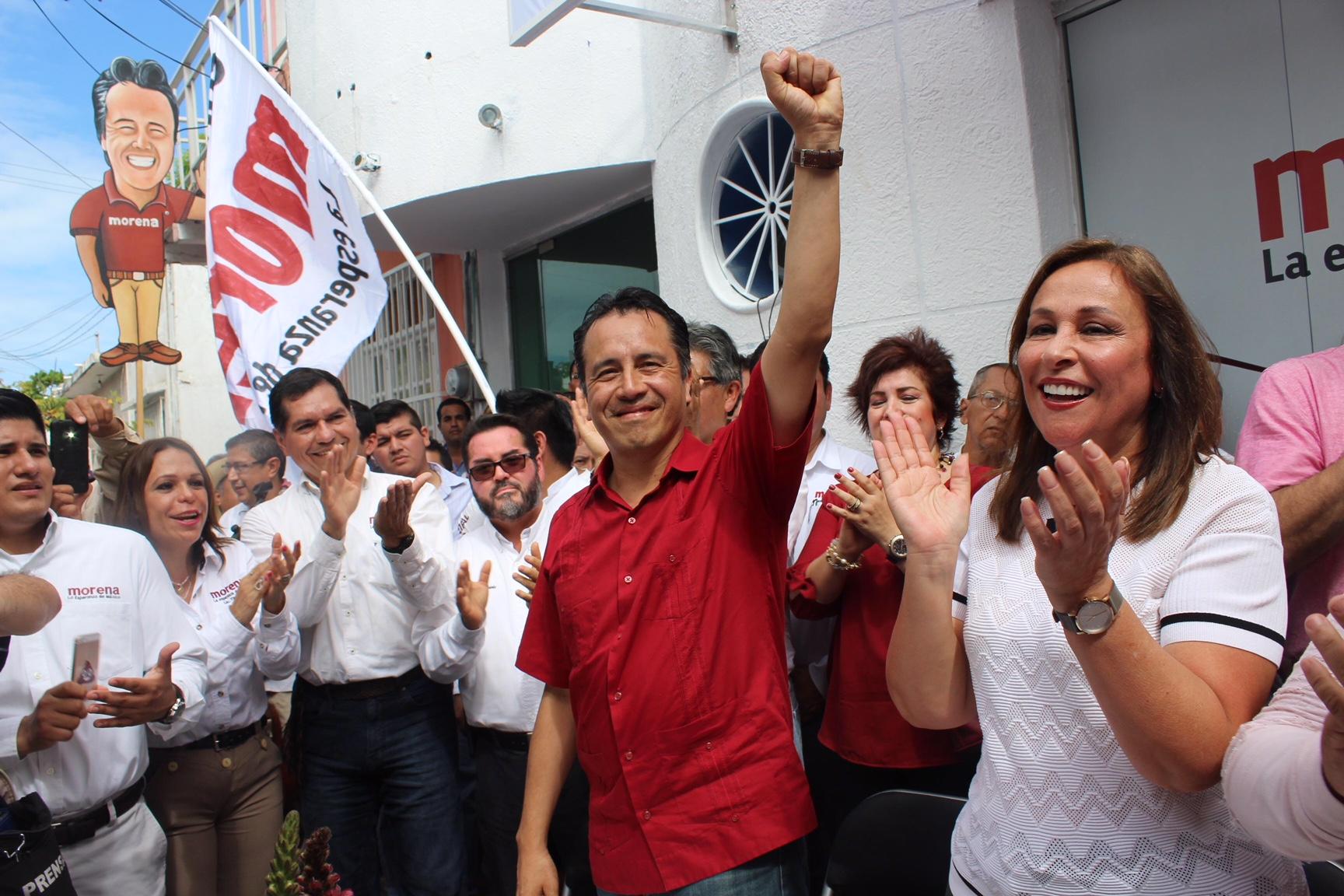 Se inaugura la Oficina de Enlace de Cuitláhuac y Nahle en el Puerto de Veracruz