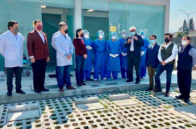IMSS envía brigada de médicos veracruzanos a apoyar a CDMX