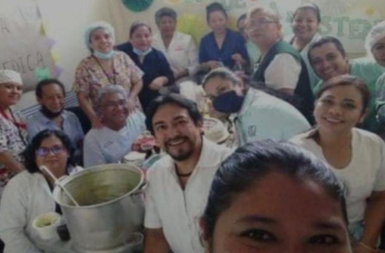 IMSS reprende a trabajadores por festejo en clínica de Orizaba