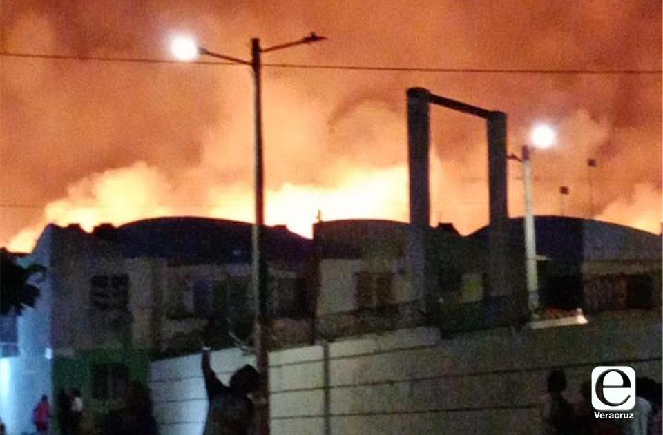 Incendio en pastizal alarma a vecinos de Zona Norte, en el Puerto