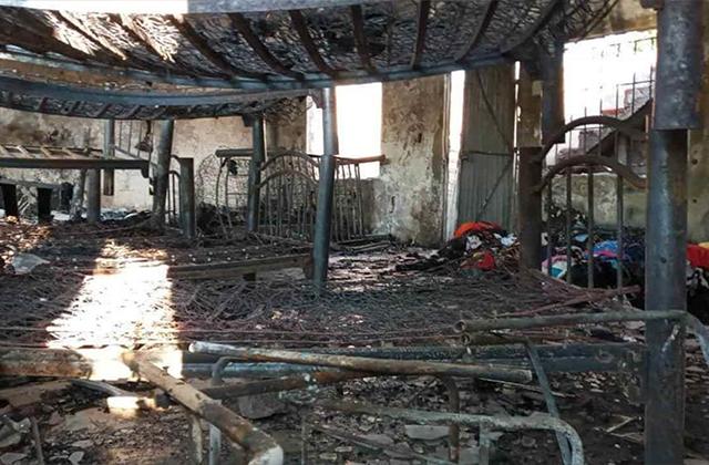 Incendio en casa El Buen Samaritano deja niños sin hogar en Veracruz