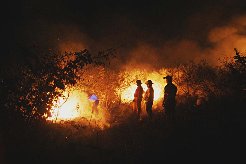 Riesgo de incremento de incendios forestales