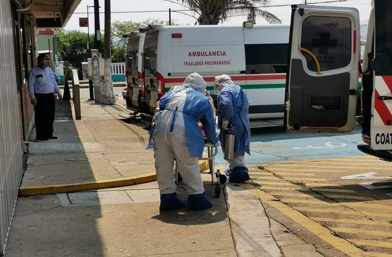 Incrementaron traslados de pacientes covid en Coatza: Cruz Roja