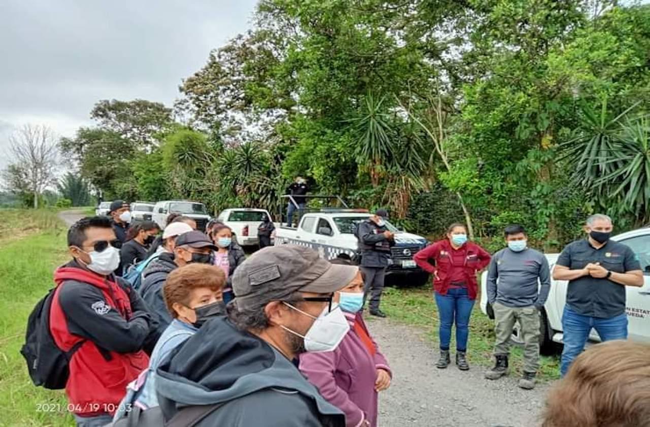 Indigna a colectivos suspensión de búsqueda en fosas de Ixtac