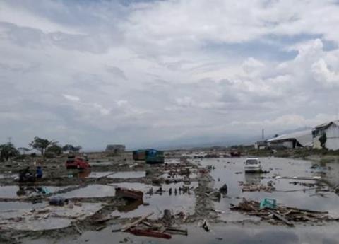Tsunami en Indonesia dejó 20 muertos