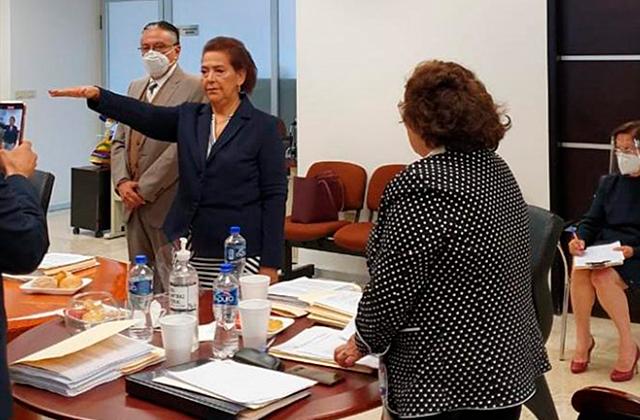 Inés Romero: de jubilada a magistrada; hoy presidenta del TSJE