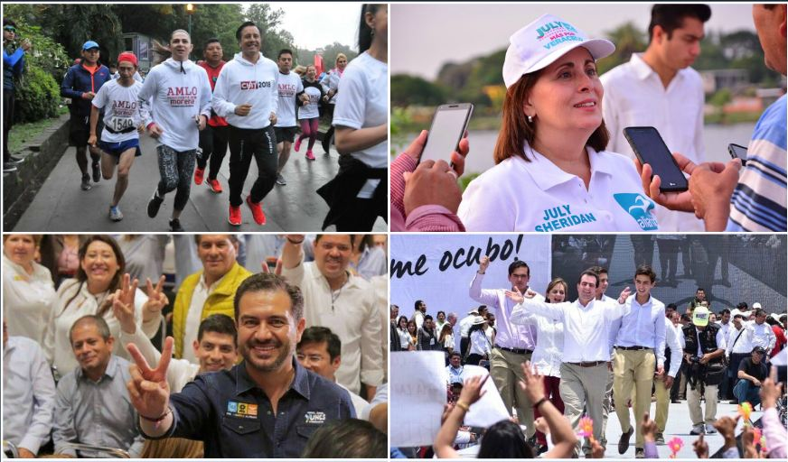Arrancan campañas para gobernador en Veracruz
