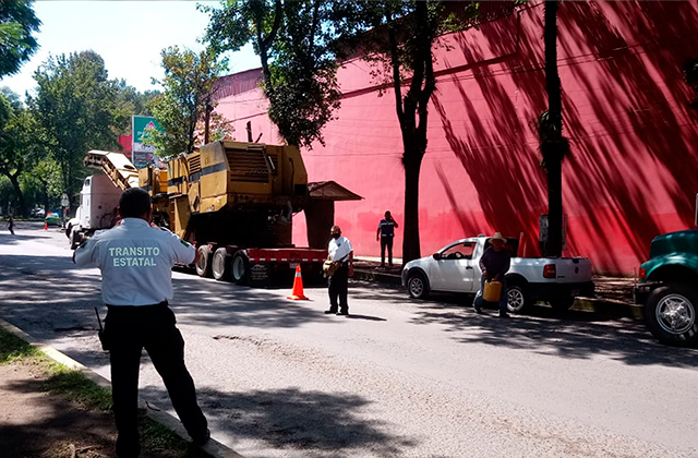 Comienzan trabajos de la Ciclovía  en la avenida Ruiz Cortines