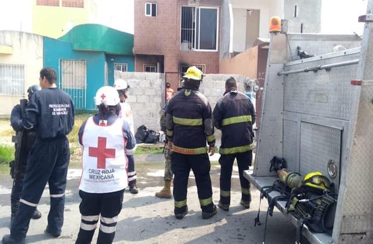 Flamazo de tanque provoca incendio en vivienda porteña