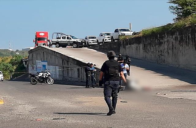 Un muerto y un herido deja un supuesto intento de robo, en Veracruz