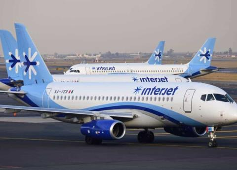Interjet podría cancelar vuelos en abril