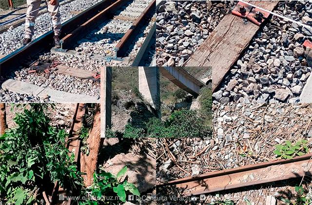 IPAX evita por tercera vez descarrilamiento de trenes, en Acultzingo