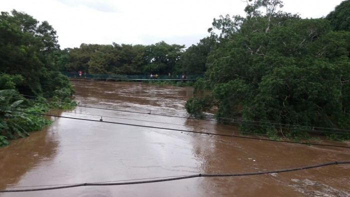 Alerta EPN por desbordamiento de ríos en Veracruz