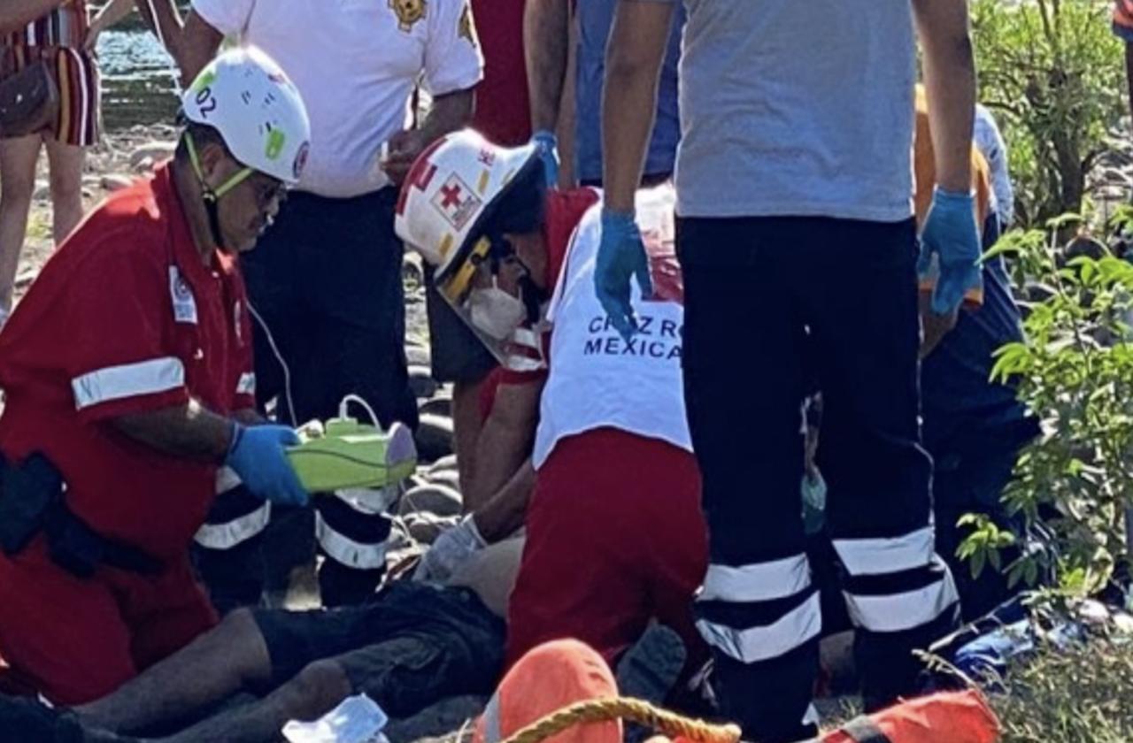 Javier perdió la vida ahogado en río La Antigua