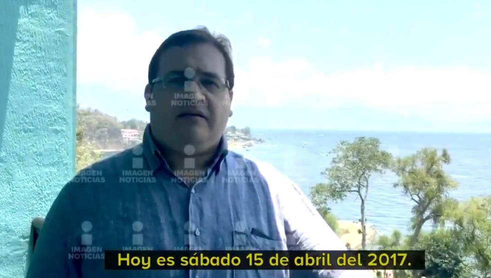Video | Duarte pactó su entrega y exhibieron su captura