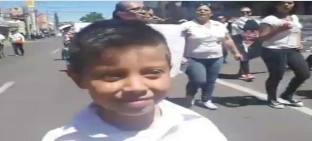 Jayden, el niño ''rastreador'' busca a su madre desde hace 6 años