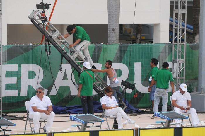 Prensa deportiva destaca deficiencias en los JCC Veracruz 2014