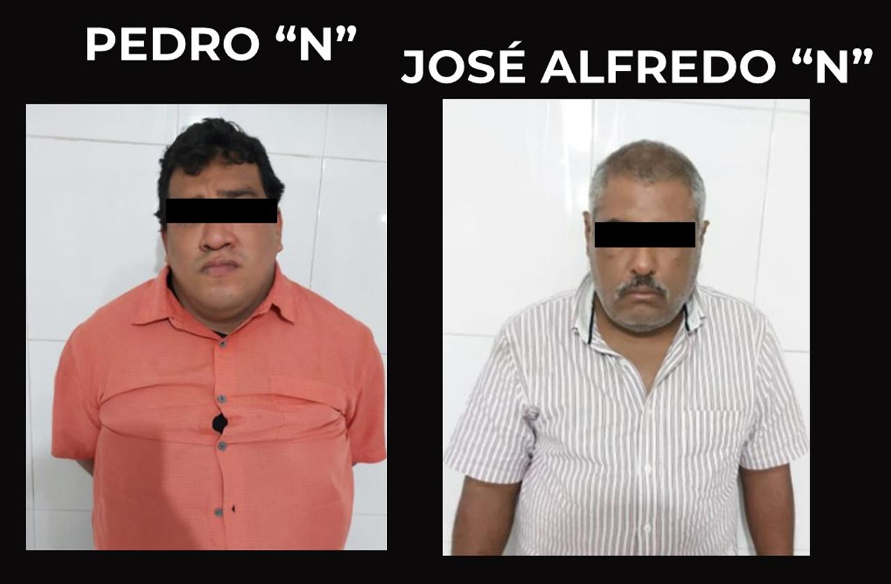 Dos detenidos por secuestros domiciliario en Coatza