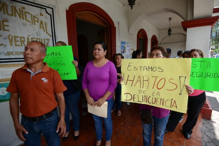 """""""Empezaron robando, y ahora hasta secuestran"""": Vecinos de Jilotepec"""