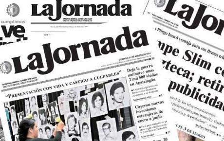 Crisis en el periódico La Jornada