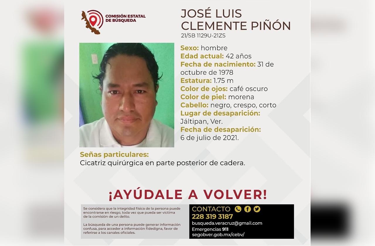 Tras 15 días desaparecido, José Luis fue encontrado en fosa de Jáltipan
