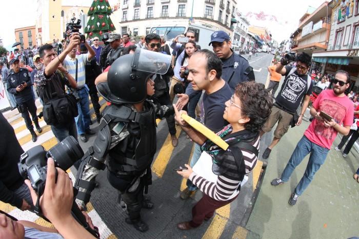 Pide Sección 32 no usar fuerza pública en manifestaciones