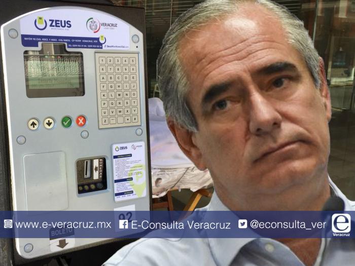 Veracruz y sus parquímetros, la polémica herencia de Julen Rementería