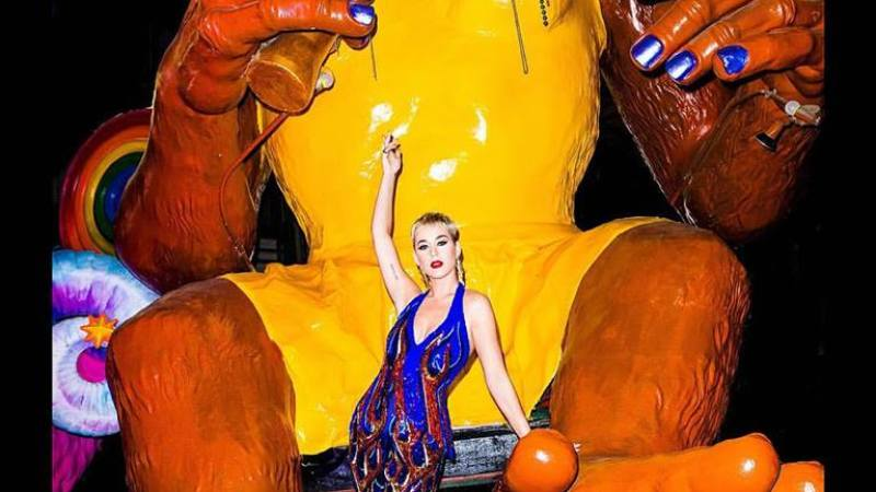 Katy Perry revela fechas para su gira Witness en México