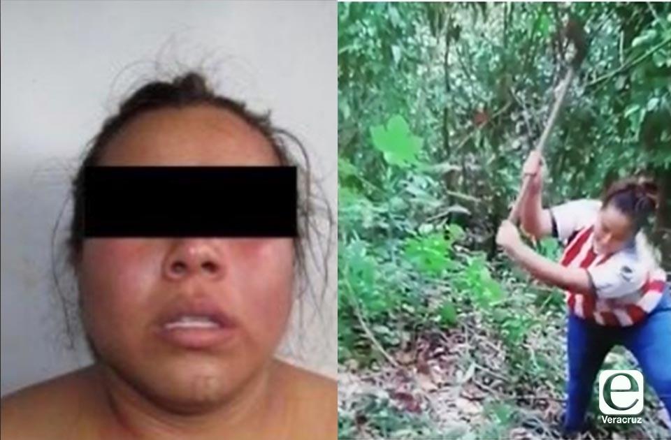 """En vídeo """"La Carnicera"""" destazó a víctima; fue reaprehendida"""