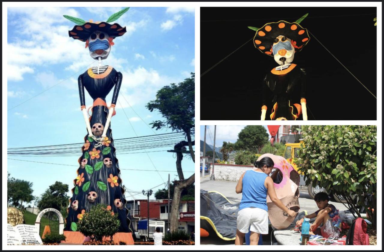 La catrina más grande de Veracruz es misanteca