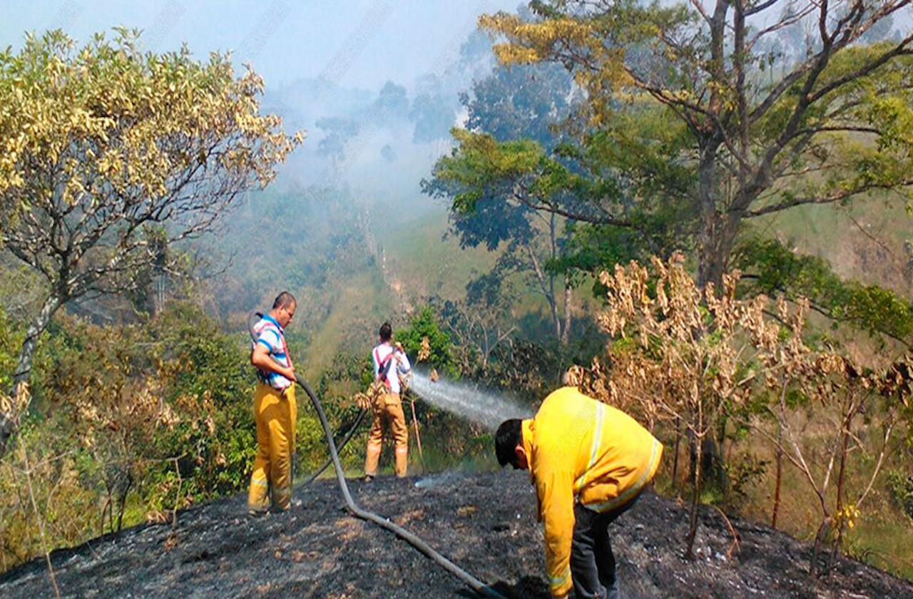 La Choapas, foco rojo por incendios forestales