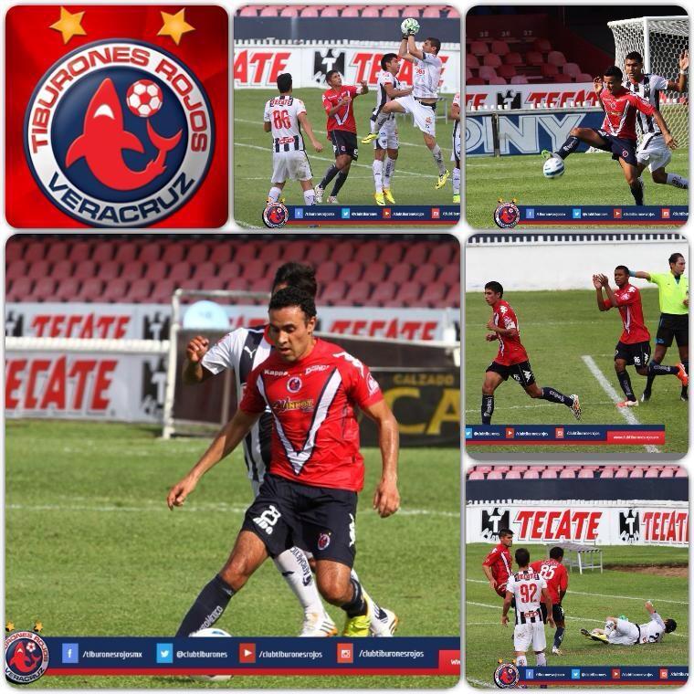 Tiburones Rojos triunfan 2-1 ante Monterrey