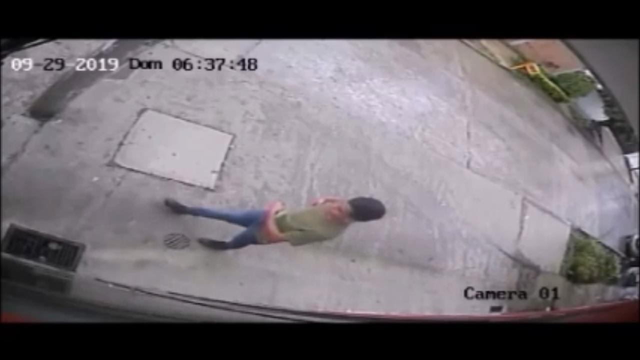 Vecinos alertan por presunto ladrón en la colonia Laureles