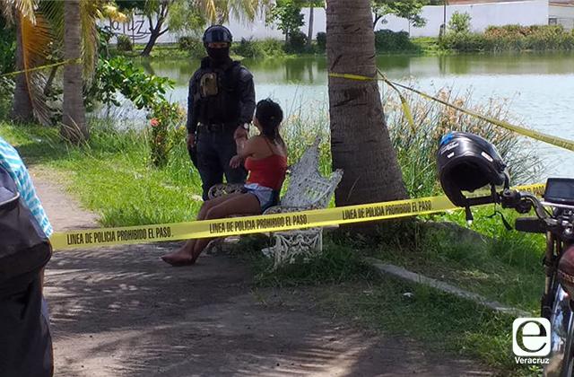 Rescatan a mujer atrapada en islote de laguna de Malibran