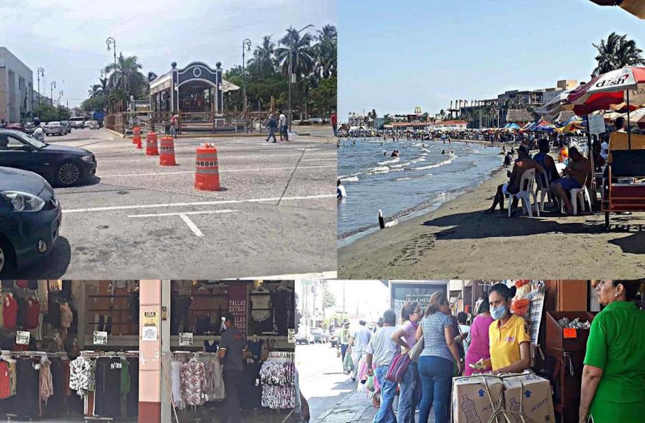 Las 5 medidas que fallaron para frenar al covid en Veracruz