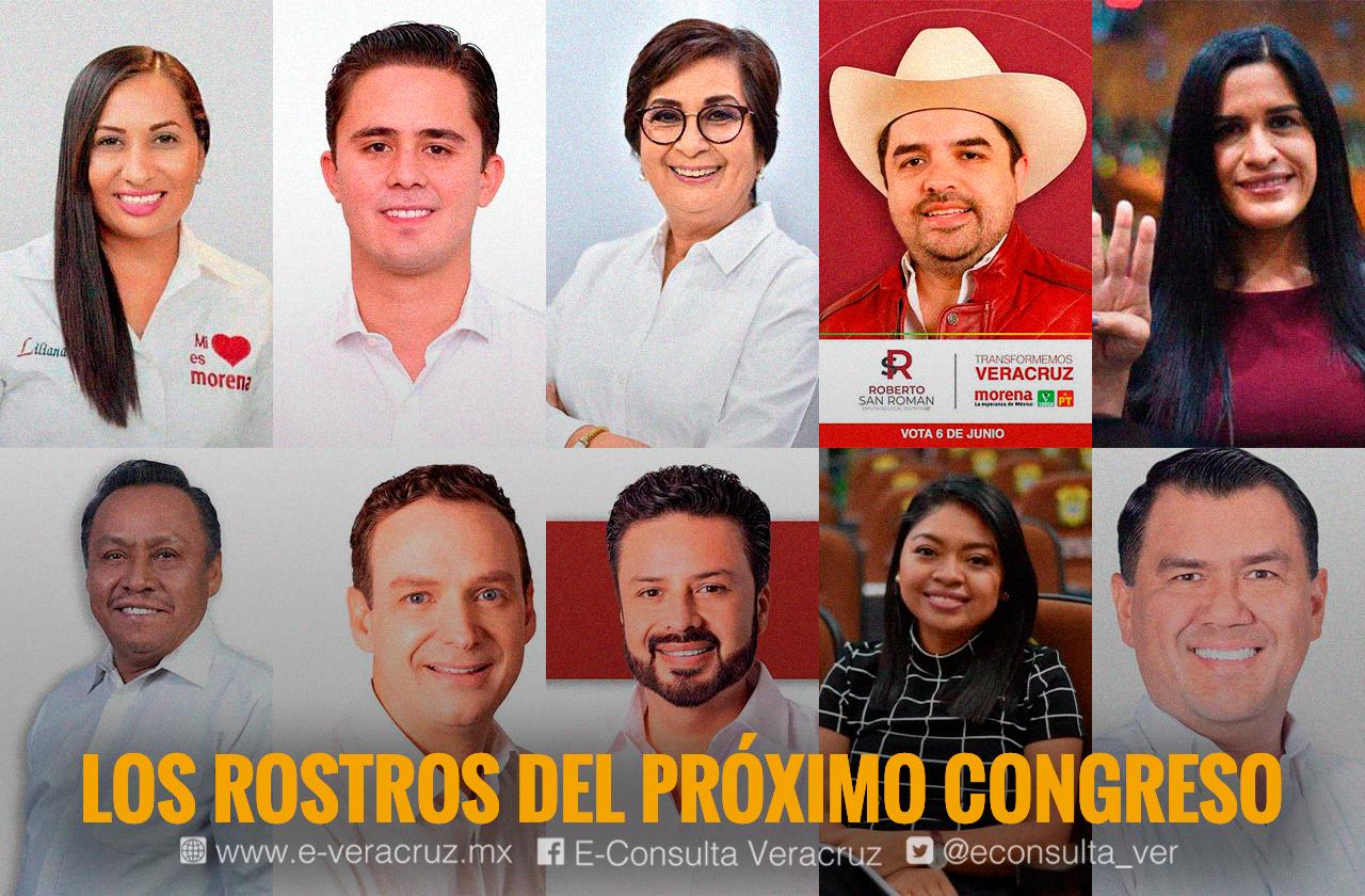 Las caras nuevas y caras conocidas del próximo Congreso en Veracruz