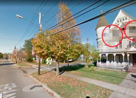 Google Maps censuró estas imágenes de terror en casa embrujada