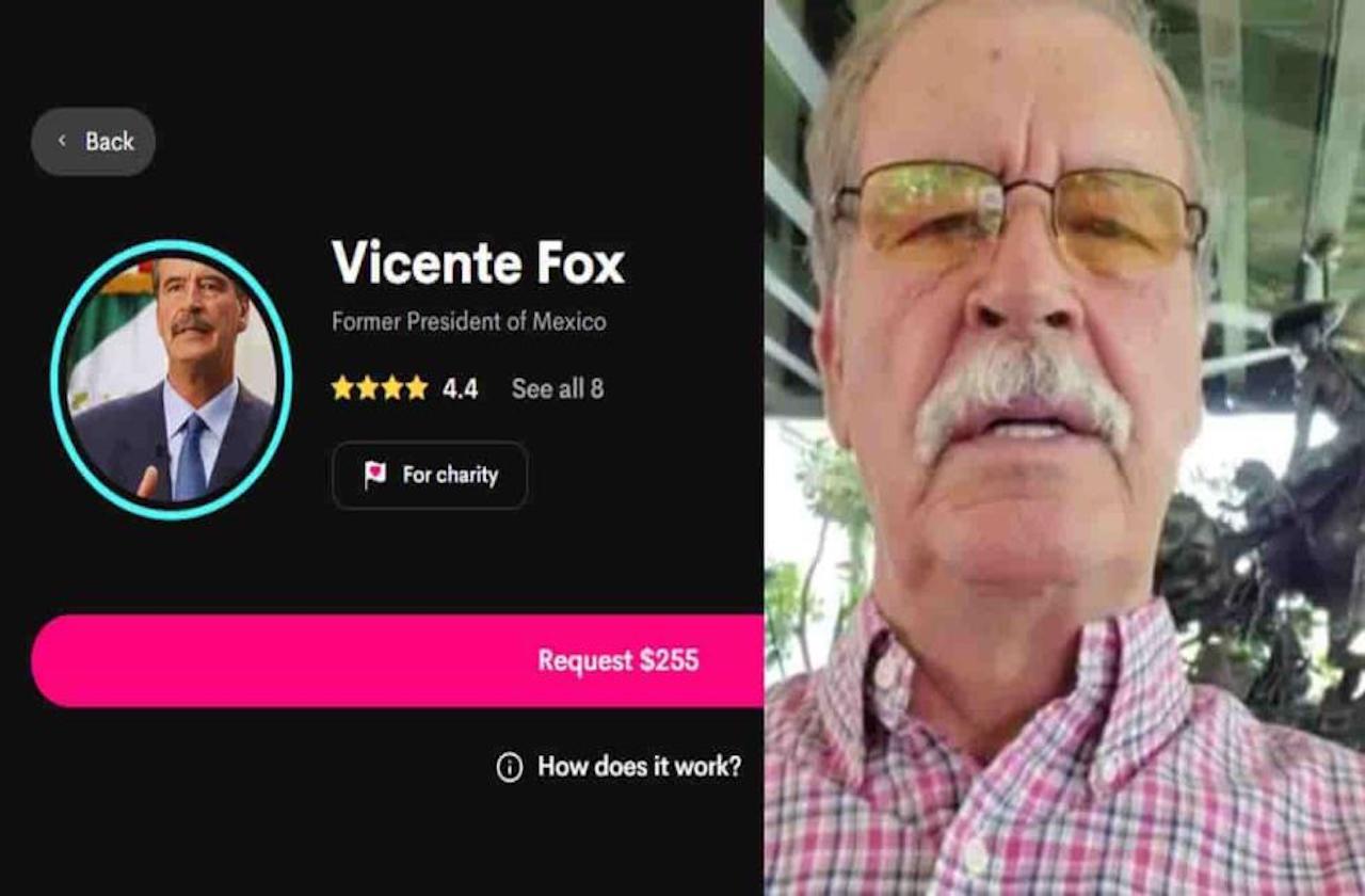 ¡Mañanitas cantadas por Vicente Fox cuestan 255 dólares!