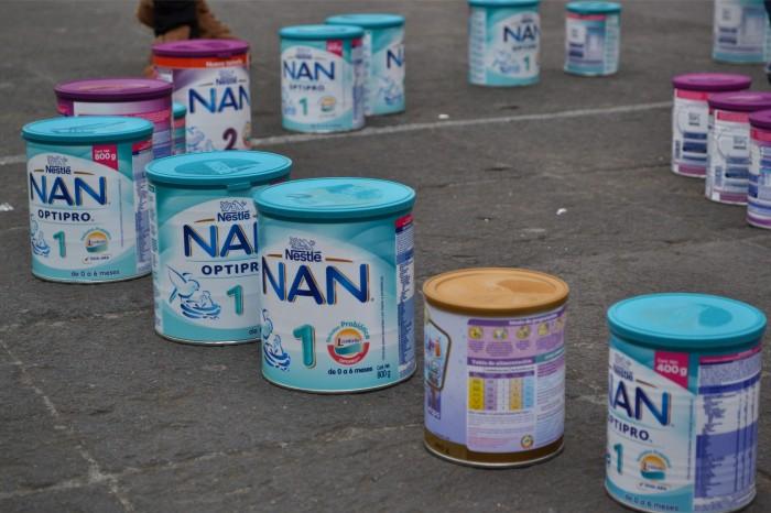 Niños de madres con VIH en riesgo ante desabasto de leche