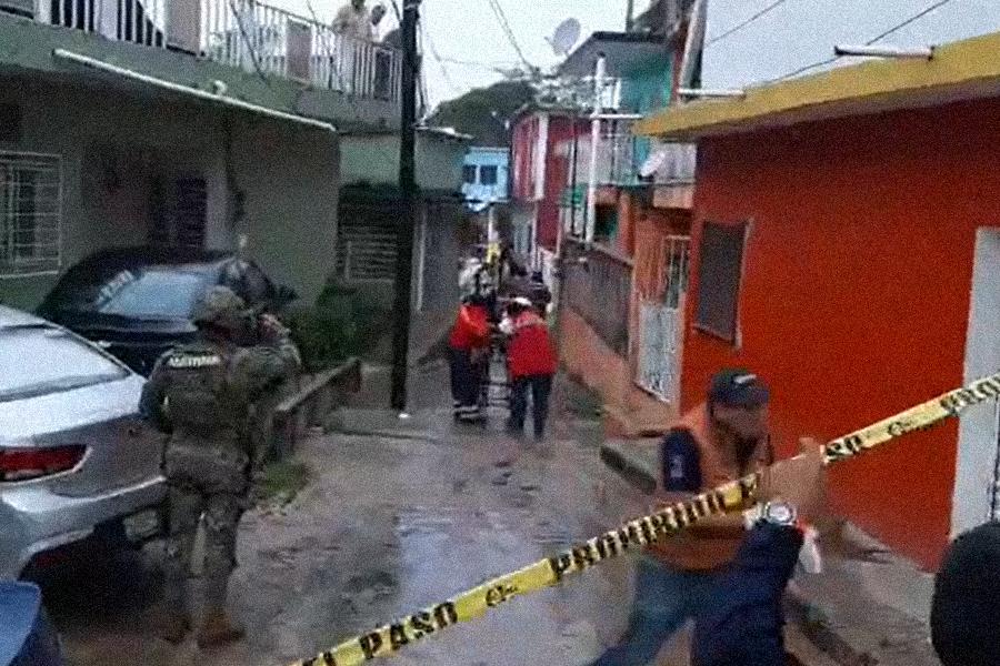 VIDEO | Dos muertos y un herido en ataque a bar de Agua Dulce