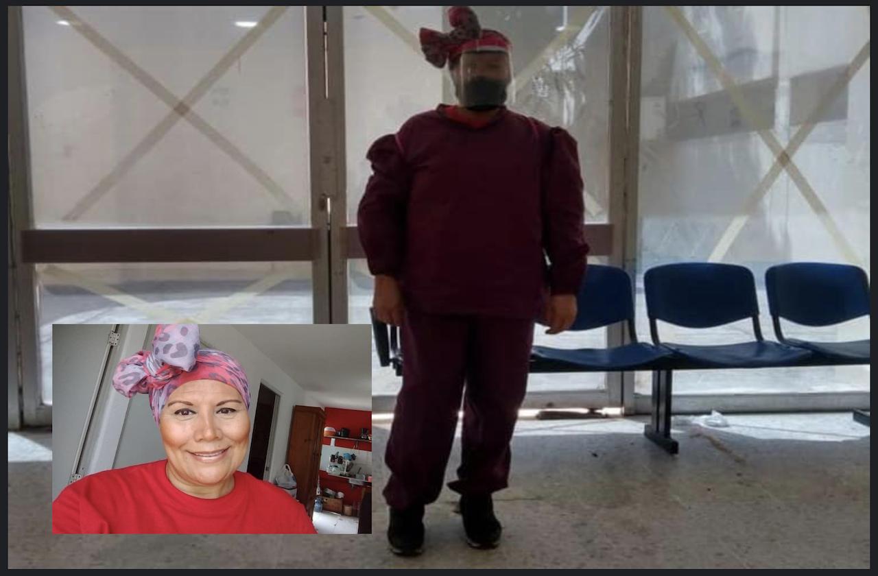 Lilí lucha contra el cáncer de mama y se previene del covid