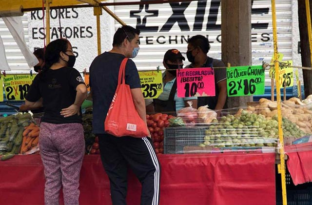 ¿No te alcanzó el mandado? Precios de frutas y verduras registran sobreinflación