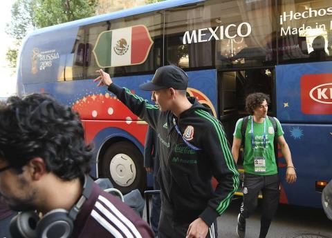 Así llegó al Selección Mexicana a Rostov para juego contra Corea del Sur