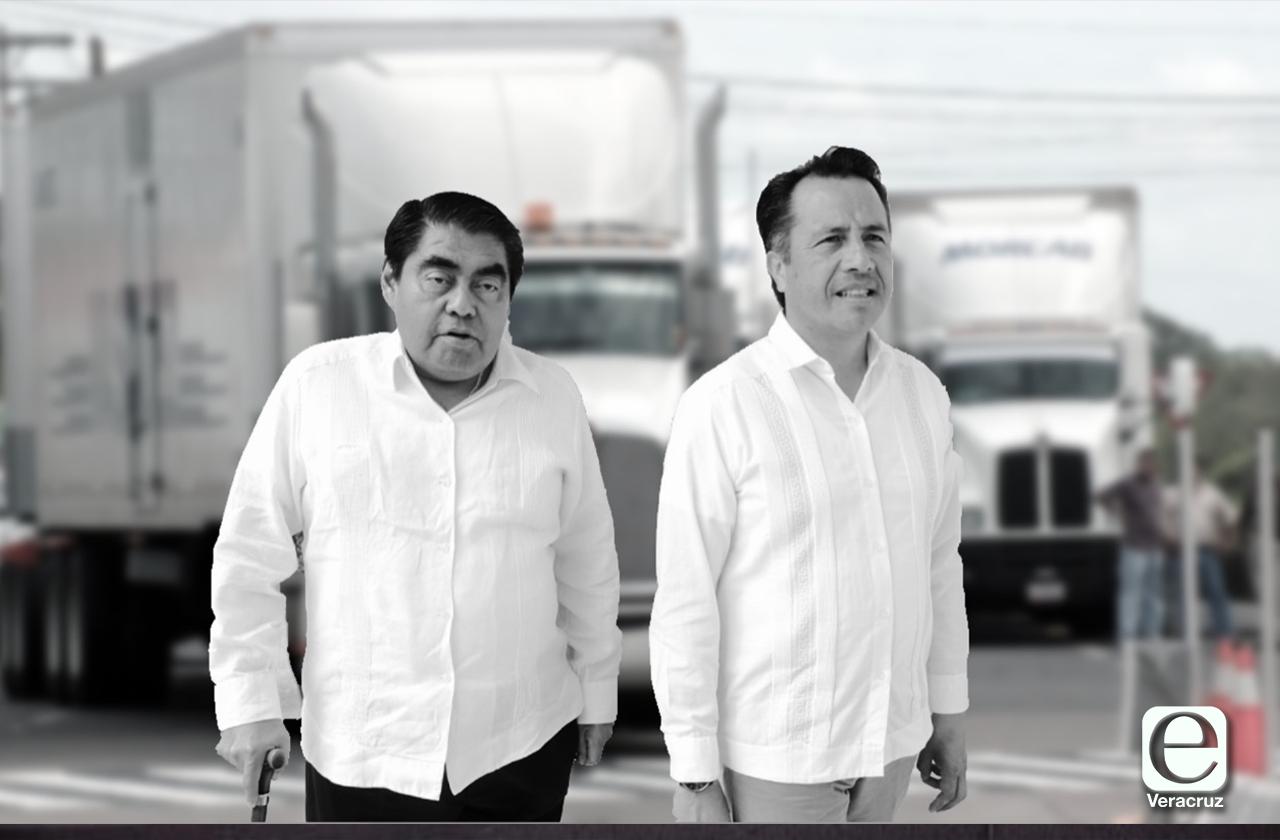 Alianza Cuitláhuac-Barbosa sin frenar atracos a transportistas